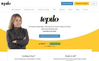 Tepilo Review - Online Estate Agent