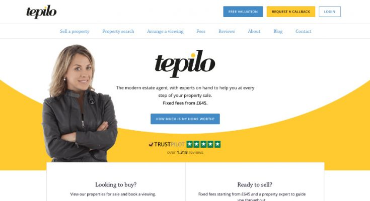 Tepilo Review - Online Estate Agent