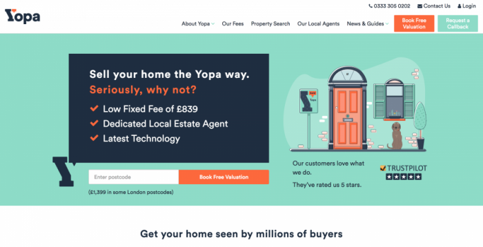 Yopa Review - Online Estate Agent