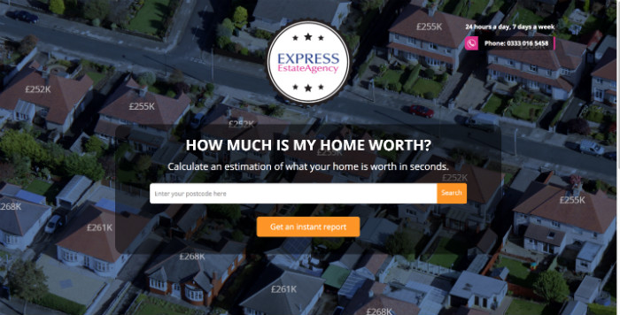 Express Estate Agency Online Valuation