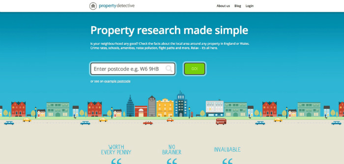 Property Detective Website