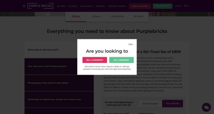 Book Purplebricks Free Valuation
