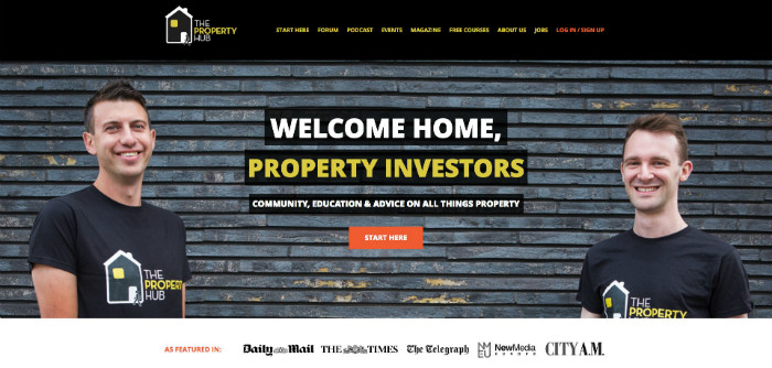 The Property Hub Website