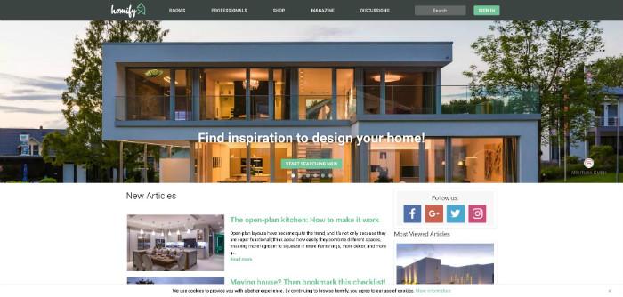 Homify Website