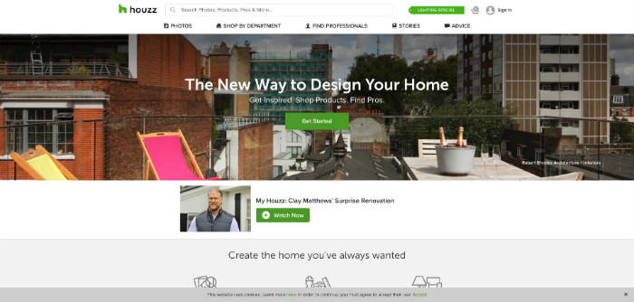 Houzz Home Improvement Website