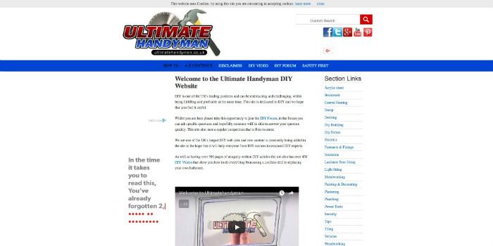 Ultimate Handyman Website