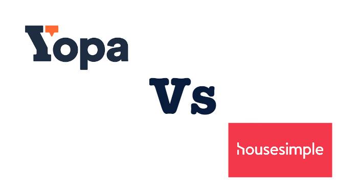 Yopa Vs HouseSimple