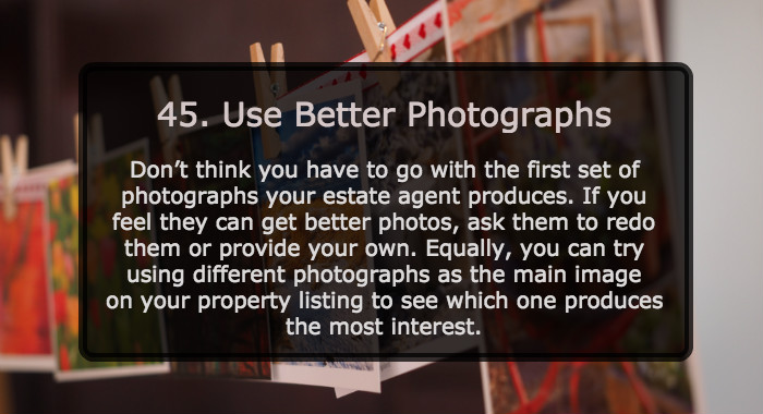 Use Better Property Photographs