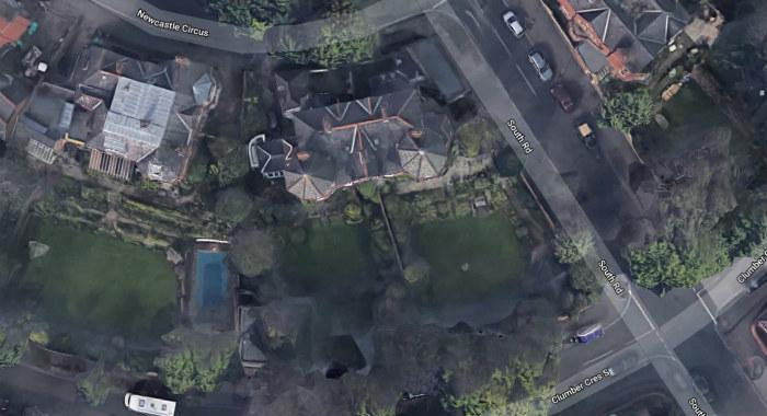 Google Maps South Facing Garden
