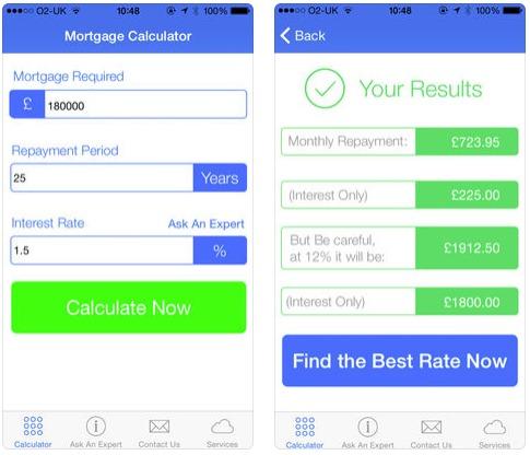 Mortgage Calculator App