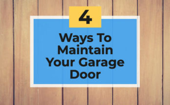 Ways To Maintain A Wooden Garage Door