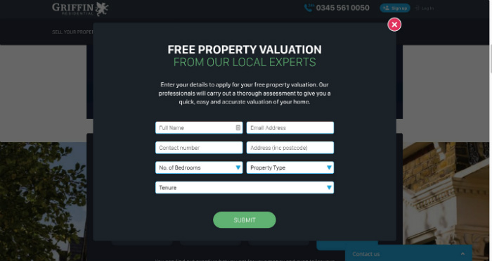 Griffin Free Valuation