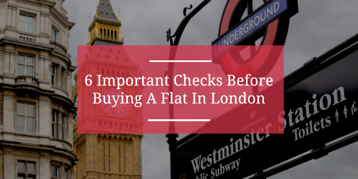 What to check before buying a flat in London