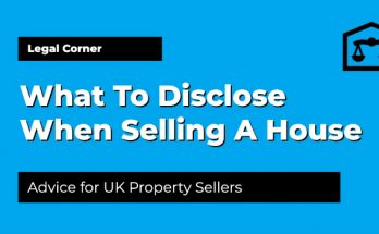 What To Disclose When Selling A House