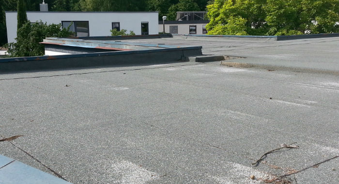 Flat Roofs demand special care