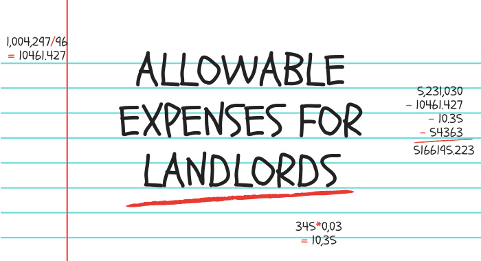 Allowable Expenses for Landlords