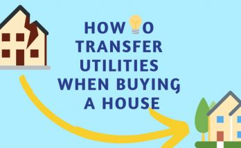 How To Transfer Utilities When Buying A House