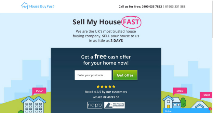 HouseBuyFast.co.uk review
