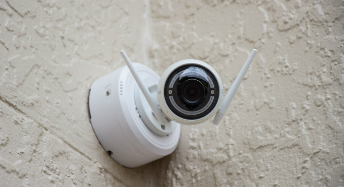 Keep your house safe with smart cameras.