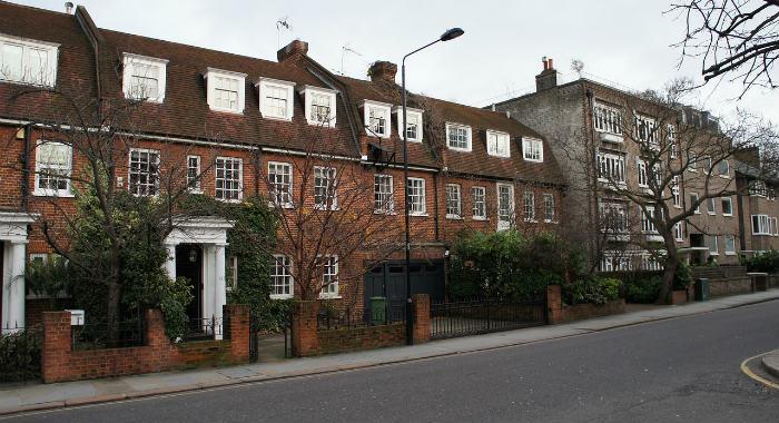 High value London house