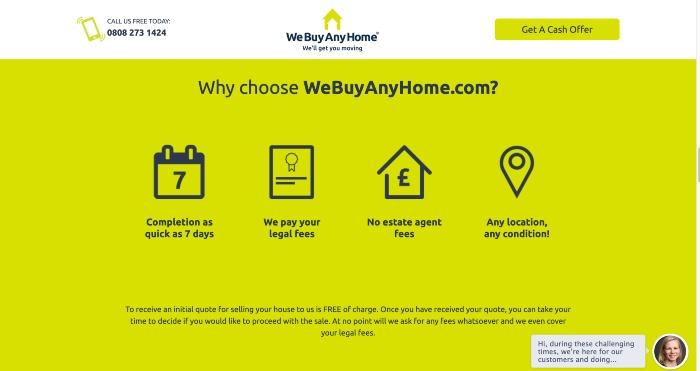 Why use WeBuyAnyHome?