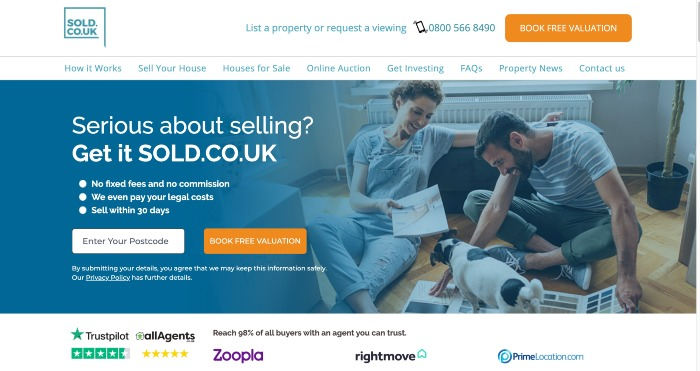 SOLD.CO.UK review