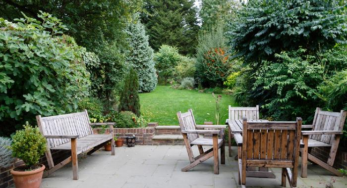 People seem to be changing their tastes for houses. A garden is now a priority.