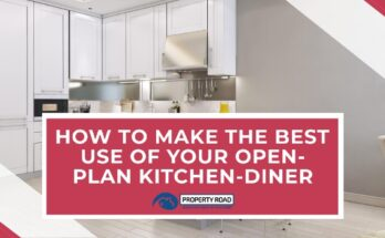 How to make the best use of an open-plan kitchen diner