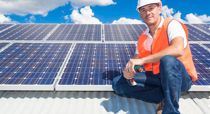 Solar panels might not generate a lot of income but they count towards a house's Energy Performance Certificate.