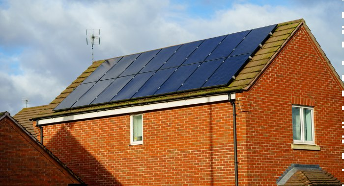 Solar panels must meet the required standards created by the BSA (Building Societies' Association).