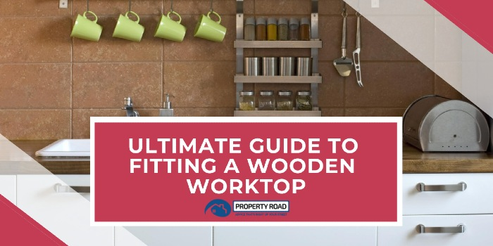 Fitting a wooden worktop
